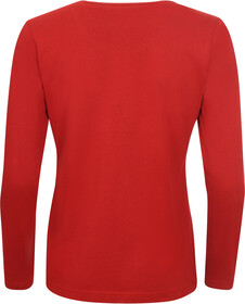 Elkline Posy Langærmet T shirt Damer, chilipepperred